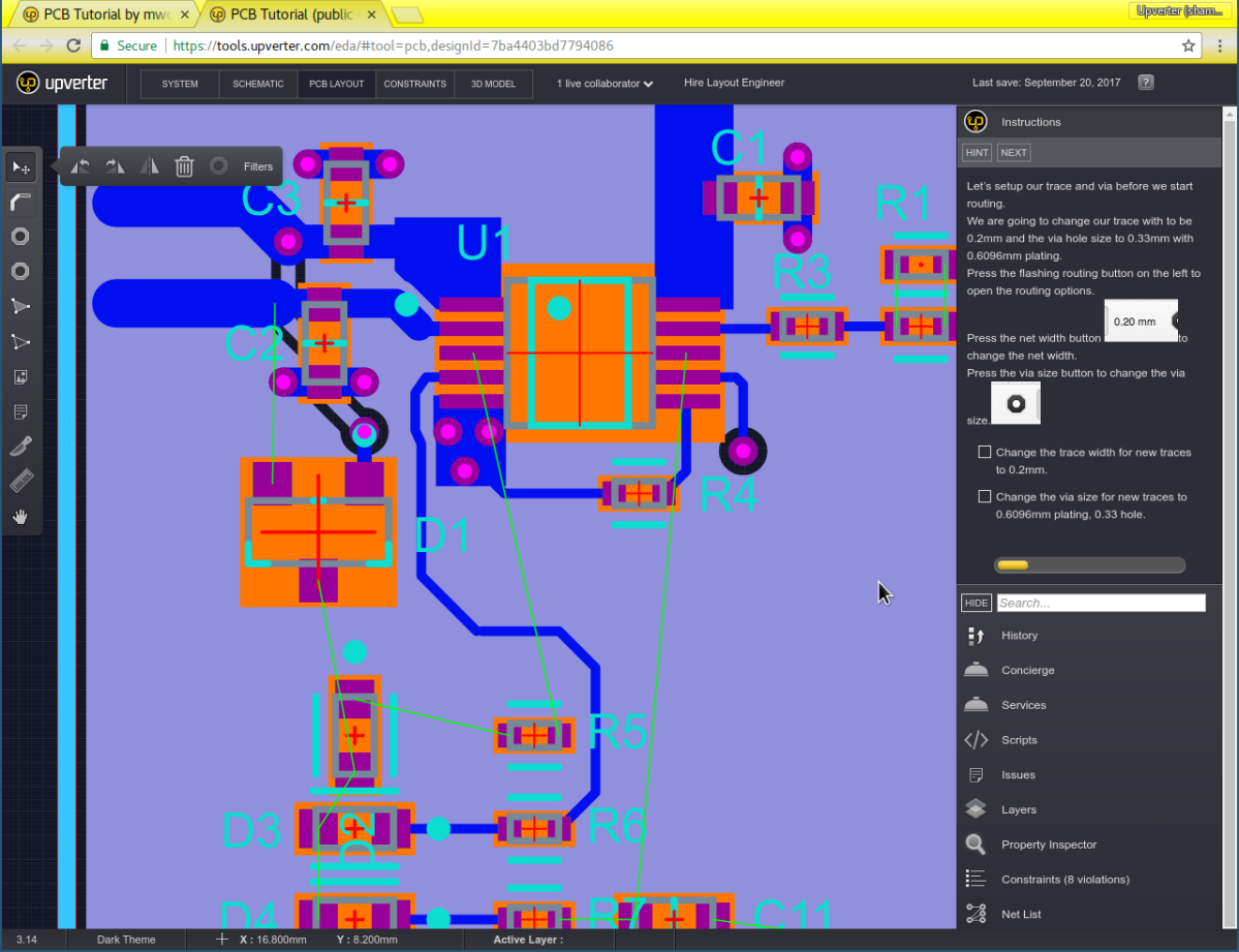 New Feature: PCB Layout Tutorial – Upverter Blog