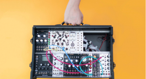Eurorack built from an open source hardware project