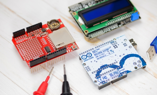 Arduino shield design by stacking multiple boards